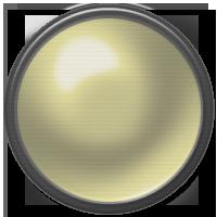 button, off, yellow icon