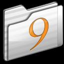 classic, white, folder icon