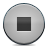 grey, button, stop icon