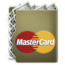 credit card, master card icon