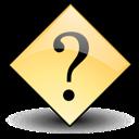 del, dialog, help, question, remove, delete icon