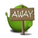 Adium Bird Away icon