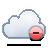 delete, cloud icon