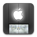 Apple, Rounded, Store icon