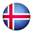 flag,iceland,country icon