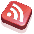 red, rss, subscribe, feed icon