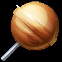 lollypop, planet, jupiter icon