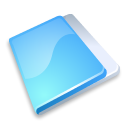 Blue, Close, Folder icon