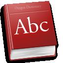 dictionary, dsad, accessories icon