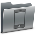 mobile phone, smartphone, iphone, cell phone, folder icon