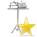 favourite, star, my document, bookmark icon