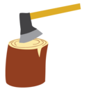 wood delivery icon