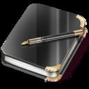 Notebook boy icon