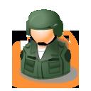 avatar, soldier icon