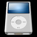 Alt, Ipod, Silver icon