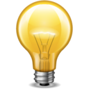 bulb,light icon