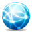 web, blue icon