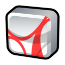 reader, adobe, acrobat icon