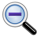 zoom, out, old icon