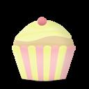 cupcake cake vanilla icon
