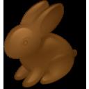 easter, rabbit, chokolate icon