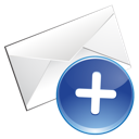 email, add icon