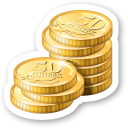 cash, coin, money, currency icon