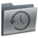 time,machine,folder icon