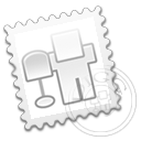 stamp, digg icon