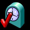 setting, configure, time, alarm clock, clock, configuration, alarm, config, option, preference, history icon
