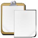 paste, clipboard icon