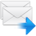 replayall, email, message, letter, reply all, mail, envelop icon