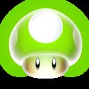 mario,mushroom,1up icon