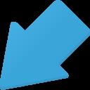 downleft icon