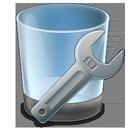 uninstall, tool icon