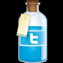 Bottle, Twitter icon