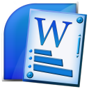 microsoft, office, word icon