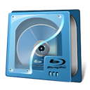 Blue, Disc, Ray icon