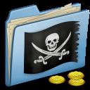 blue,pirate icon