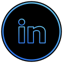 app, linkedin, network, media, social, web, linked in icon