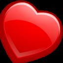 heart, glossy, love, favourite, bookmark icon