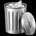 Metal, Trash icon