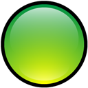Blank, Button, Green icon