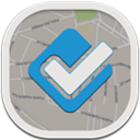 Flat, Foursquare, Round icon