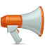 Advertisement, Advertising, Blog, Megaphone, Promote icon