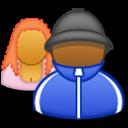 person, human, people, urban, avatar, head, msn, profile, user, account icon