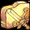 folder,sword icon