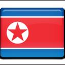 north,korea,flag icon