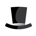 hat, black hat, seo icon