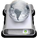 network, volume icon
